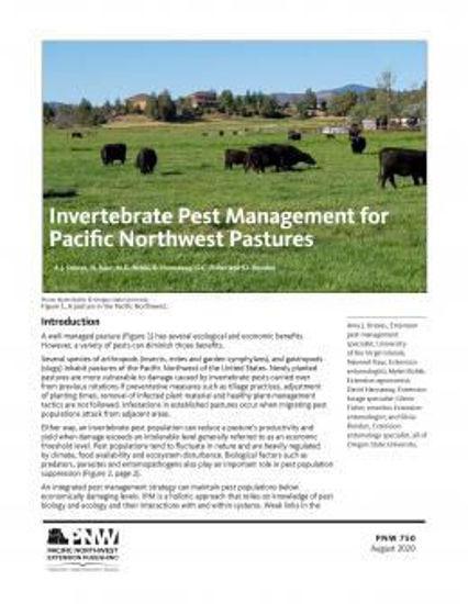 Imagen de Invertebrate Pest Management for Pacific Northwest Pastures